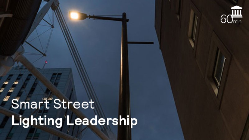 Smart street lighting leadership: a webinar with Navigant and Signify