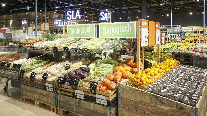 Smart supermarket lighting – Albert Heijn XL Eindhoven