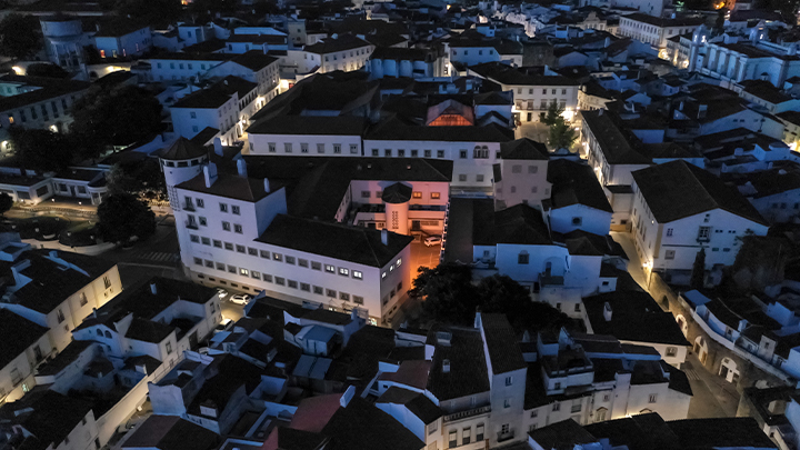 Alentejo Central en Portugal - Iluminación conectada con Interact City