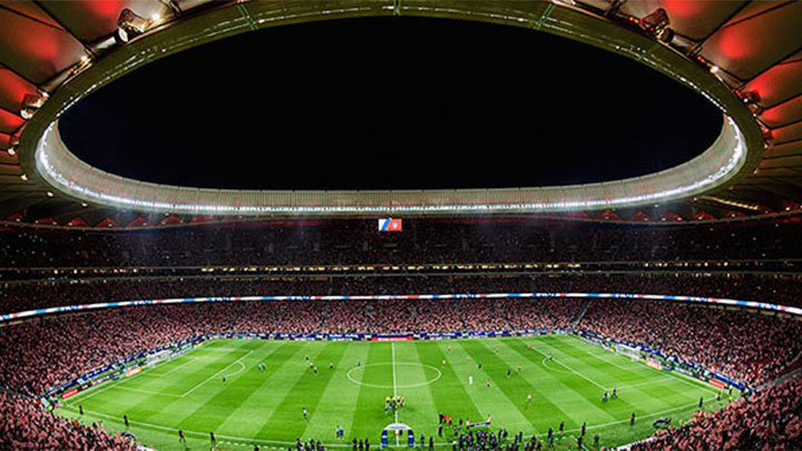 Smart stadium lighting – Atletico Madrid