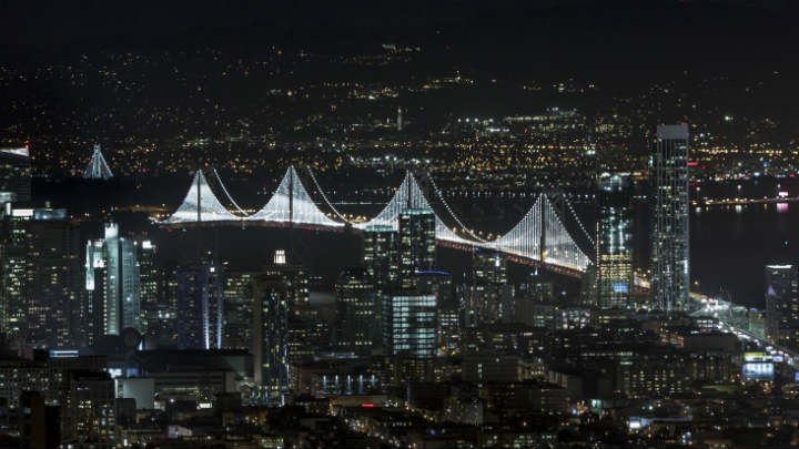 Connected bridge lighting – San Francisco Bay Bridge