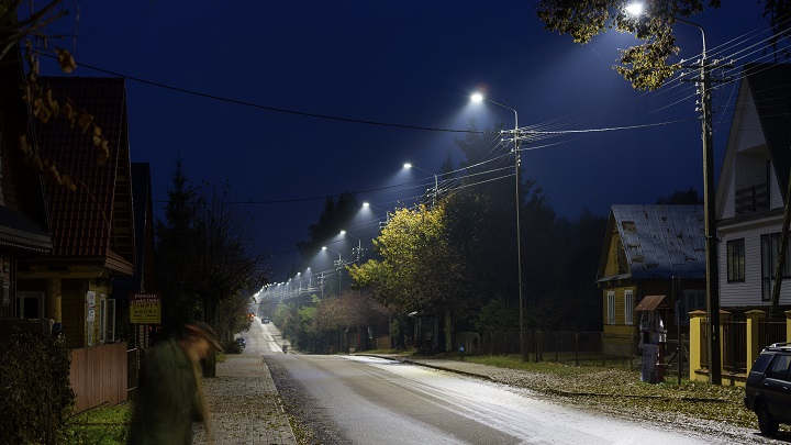 LED lighting upgrade - Poland
