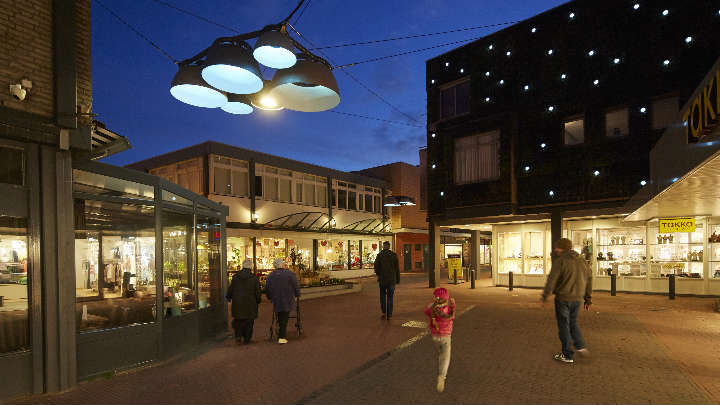 Creating a vibrant city center – Smart Lighting