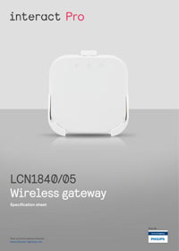 Interact Wireless Gateway specification