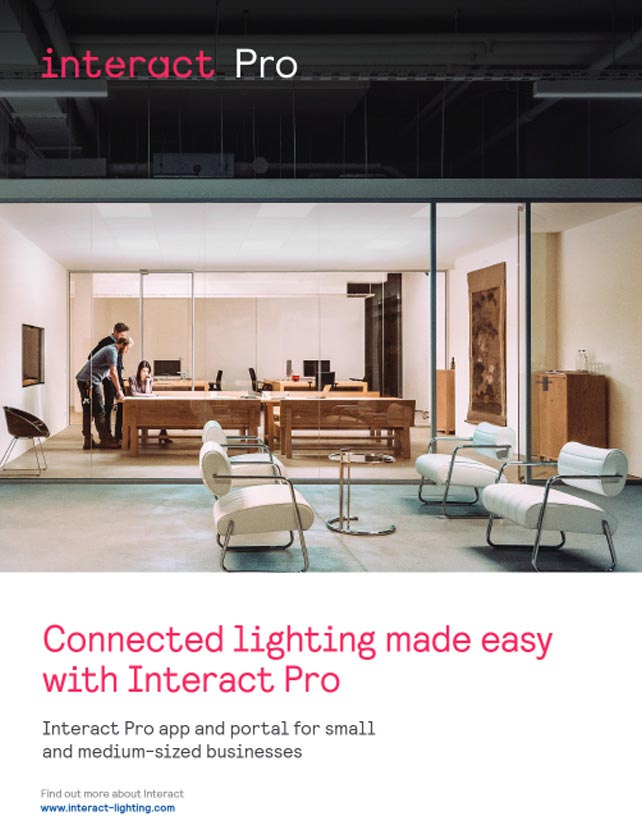 Interact Pro brochure