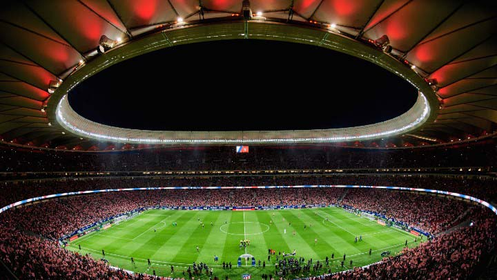 Video of Wanda Metropolitano stadium